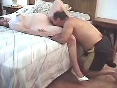 Lustful pregnant girl seduces man